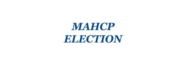 Home emails needed to vote in MAHCP Vice-Presidential election